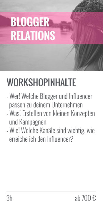 Blogger-Relations-Workshop