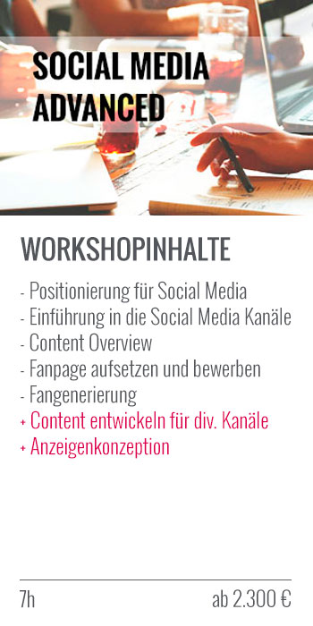 Social Media Advanced Workshop