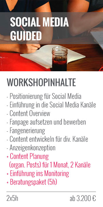 Social Media Guided Workshop