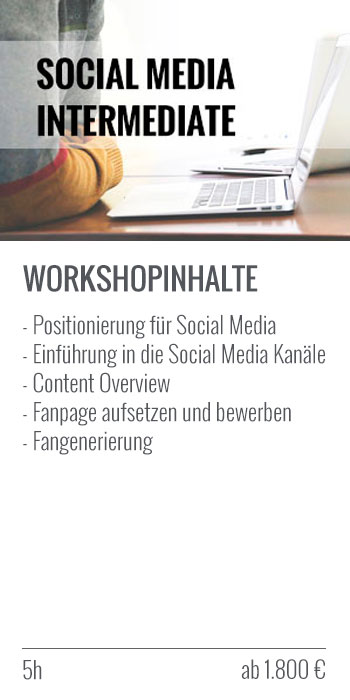 Social Media Intermediate Workshop